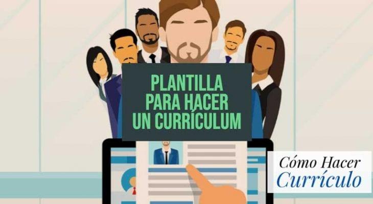 Plantilla para hacer un Currículum