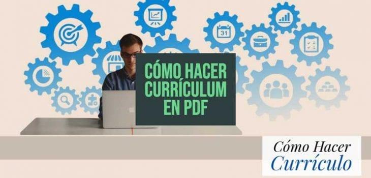 como hacer curriculum pdf