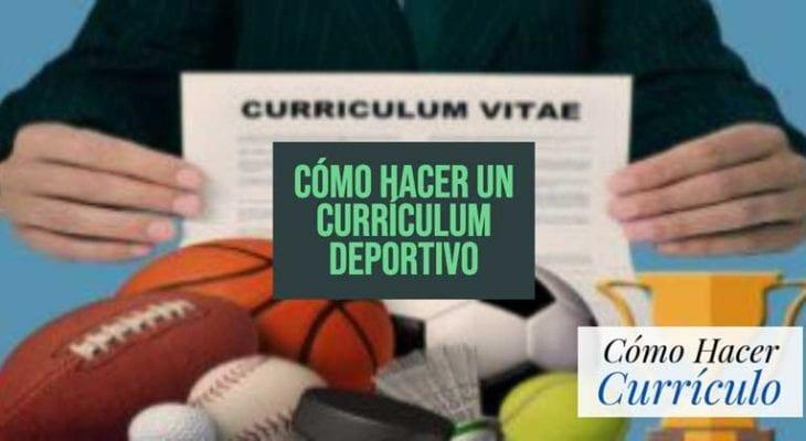 como hacer un curriculum vitae deportivo