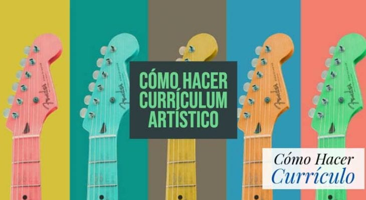 curriculum artistico