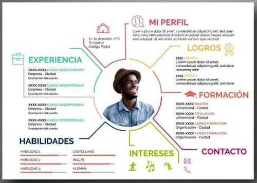 curriculum creativo diseñador
