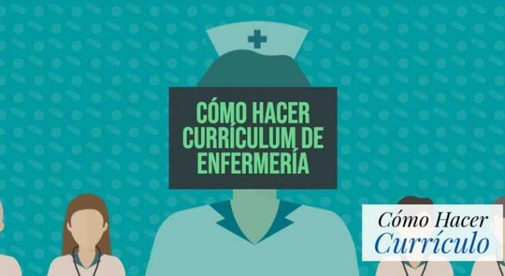 curriculum de una enfermera
