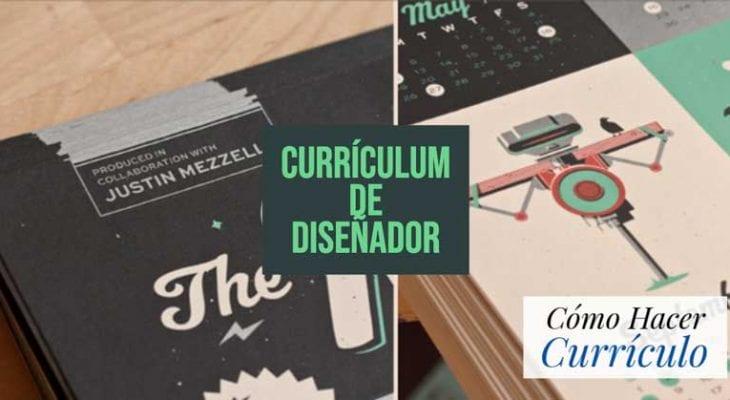curriculum diseñador