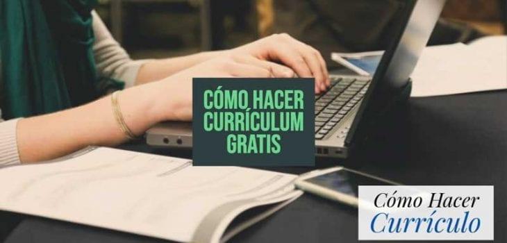 curriculum gratis